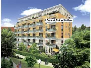 Gehobene 1,5 Zimmer Wohnung mit großem Südbalkon von privat in Untermenzing (München)