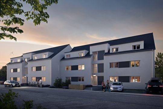 Mehr geht nicht! 3-Zimmer Wohnung mit über 120 m² Wohnfläche, Balkon ...