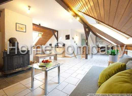 Heimelige Dachgeschosswohnung mit Kamin zum Wohlfühlen in Witten-Stockum.