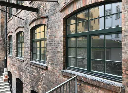 komplett saniertes Loft im 4. OG,Wohnen im alten Fabrikgebäude in Moabit