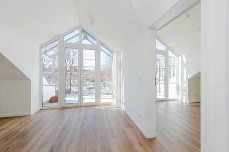 2 Zimmer-Dachgeschoss-Wohnung mit hochwertiger Ausstattung – Erstbezug in Geretsried