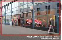 Bild Trier-Fußgängerzone: Ladenfläche mit großer Schaufensterfront in direkter Innenstadtlage
