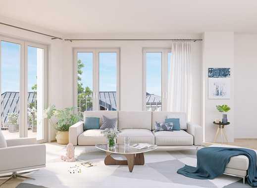 Exklusives Penthouse auf ca. 61 m² mit großzügiger Terrasse und Dachterrasse in Pankow