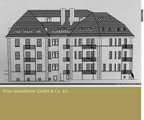 Große Eigentumswohnung im Leipziger Stadtteil