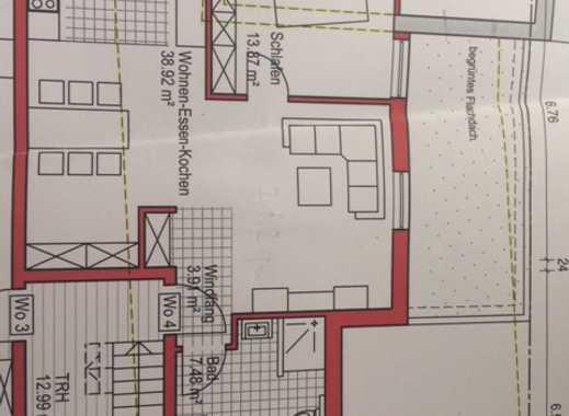 Neuwertige 2,5-Zimmer-Wohnung mit Einbauküche in Oberkochen