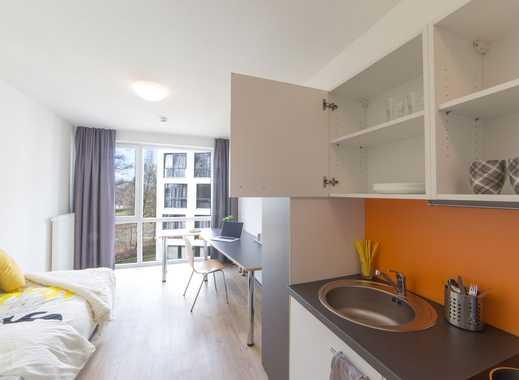 Helle, moderne und möbilierte 1-Zimmer Wohnung direkt an der Universität Bremen sucht Nachmieter(in)
