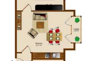 1.5 Zimmer Wohnung in Köln
