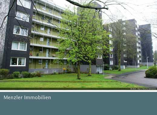Smarter Wohnen! Über den Dächern von Mülheim 2 Zi.-Whng., Duschbad mit Fenster, Sonnenbalkon!