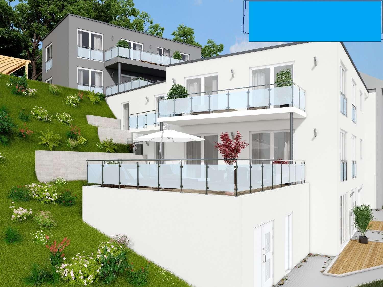 Schöne drei Zimmer Wohnung in Passau-Hacklberg mit Blick über Passau, 40 m² Terrasse
