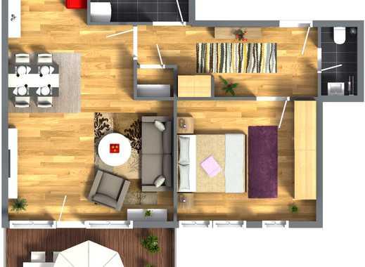 2-Zimmer-Wohnung mit Südbalkon - Seniorengerechter Neubau im Brempter Hof