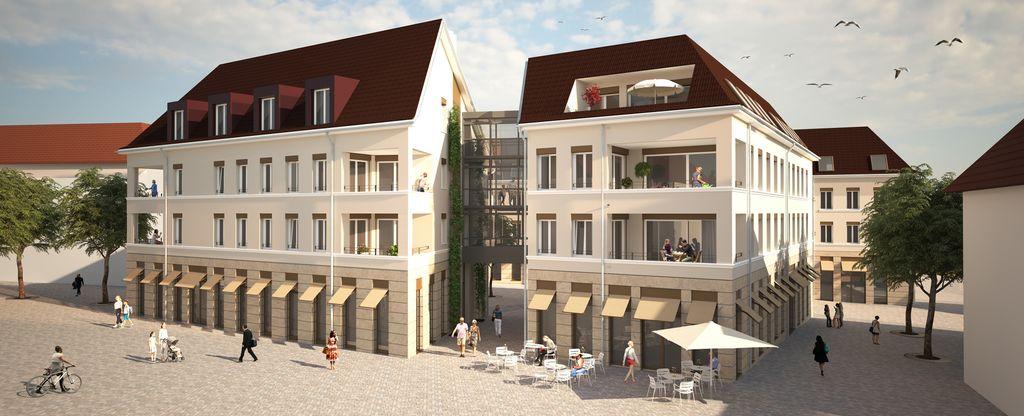 Neue Mitte Haus 3 und 4