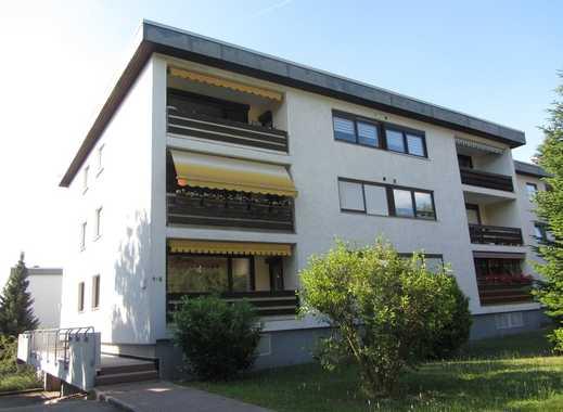 Gepflegte 4 Zimmer-Erdgeschosswohnung mit Loggia und Garage in Mosbach