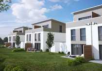 Rohbauphase Noch eine moderne Doppelhaushälfte