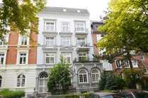 Harvestehude Parkallee 6-Zimmer-Wohnung Atelier Wohnbüro
