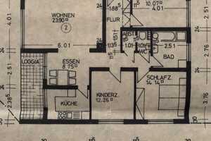 4 Zimmer Wohnung in Hohenlohekreis