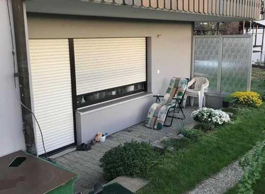Sanierte 1-Zimmer-Terrassenwohnung mit Balkon und EBK in Lonsee
