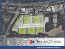 Bild Projektierte Lager-, Produktions- und Hallenfläche mit direktem Autobahnanschluss