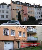 Gepflegte 3-Zimmer-Wohnung mit Einbauküche Balkon