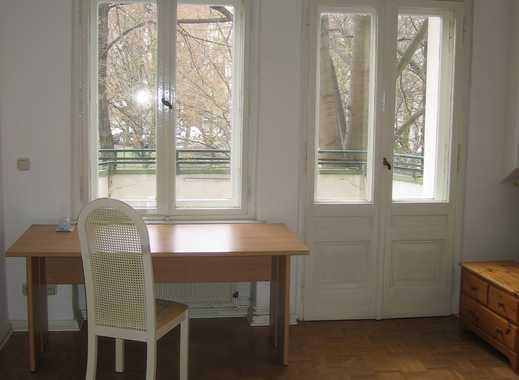 Freundliche, gepflegte, möbl. 1-Zimmer-Wohnung zur Miete in Neukölln, Berlin