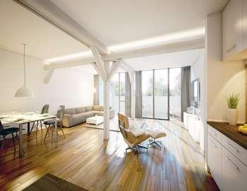 Maisonette-Wohnung in denkmalgeschütztem Gebäude - Nur noch 2 Wohnungen verfügbar!