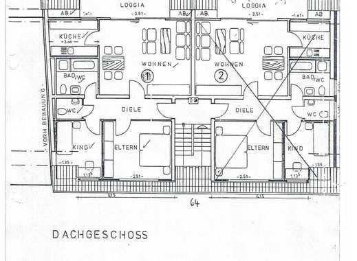 Erstbezug nach Sanierung: freundliche 3-Zimmer-Dachgeschosswohnung mit Balkon in Mönchengladbach