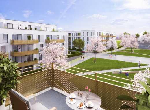 PANDION VILLE - Gut geschnittene 3-Zimmer-Wohnung mit zwei Bädern und Loggia in grüner Umgebung