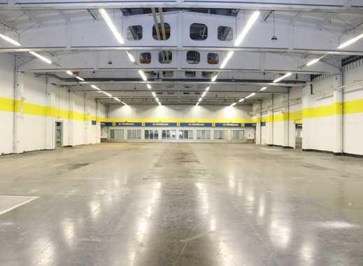 Teilbare Produktions- und Lagerflächen im Gewerbegebiet
