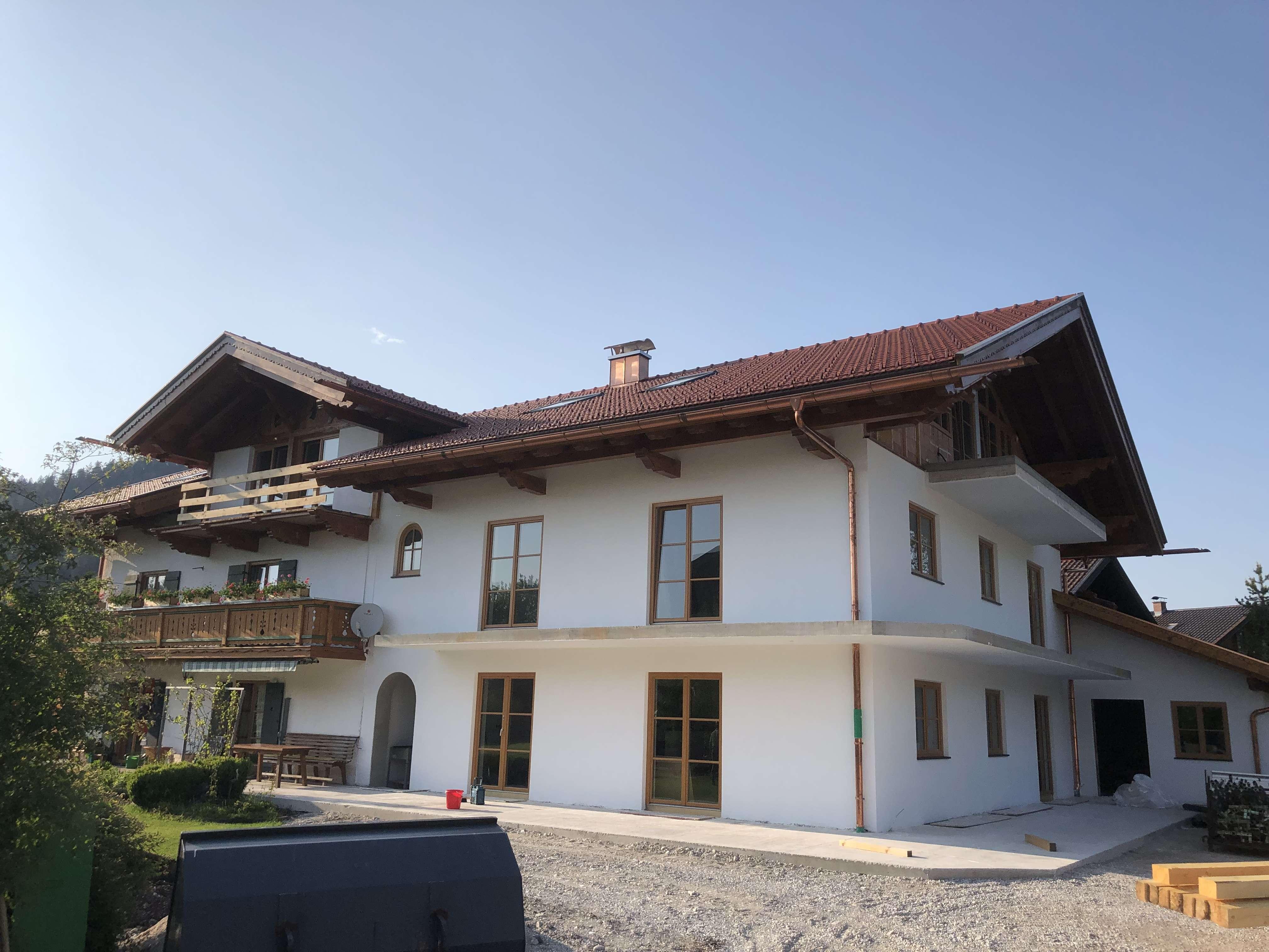 Erstbezug: freundliche 3-Zimmer-Wohnung mit Balkon in Wallgau