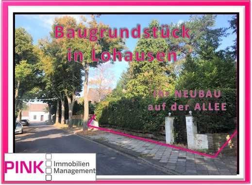 // Ihr freistehender NEUBAU auf der ALLEE \\ – in Düsseldorf-Lohausen– dem Dorf mit Herz! *Baugrund*