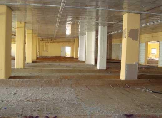 +++Lagerflächen/ Gewerbehallen auf dem Gelände der ehemaligen Kammgarnspinnerei++