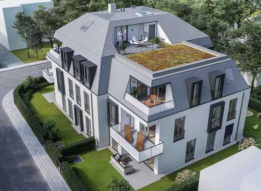 Mehr geht nicht! Urbane 3-Zimmer-Maisonette-Wohnung mit 2 Bädern, Galerie, Loggia und Dachterrasse
