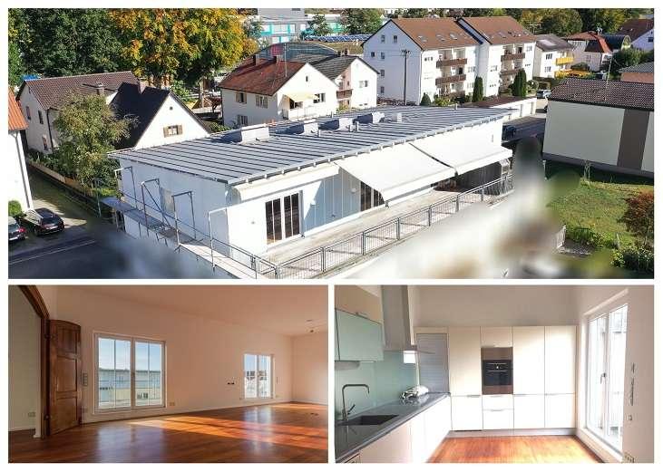 Exklusive Dachterrassenwohnung in Toplage mit Sauna und vielen Extras in Pfaffenhofen an der Ilm
