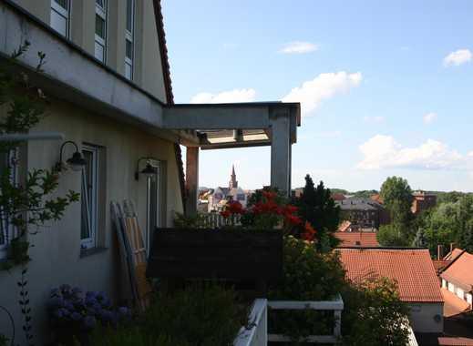 3-Zi-Wohnung mit Balkon und herrlicher Fernsicht über den Stadtpark von Fürth