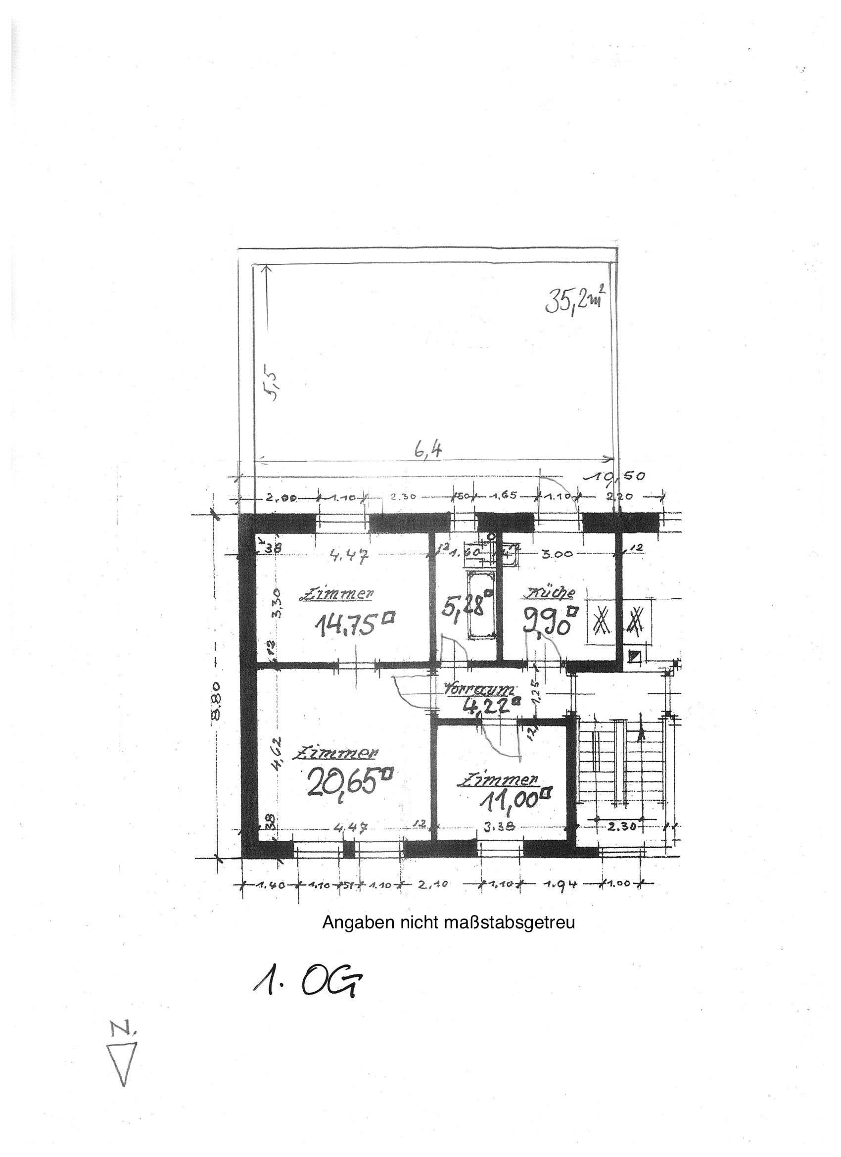 Schöne 3- Zimmer-Wohnung in Nürnberg, Galgenhof