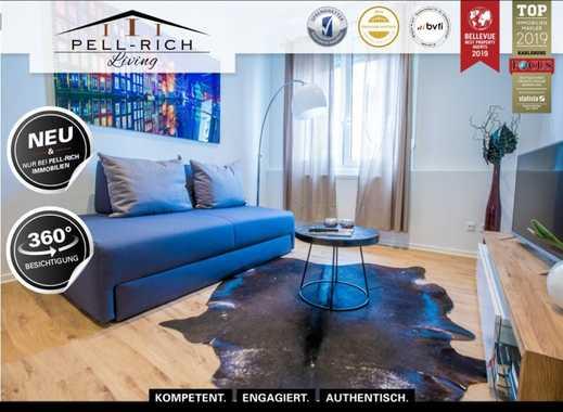 GEFRAGT: Renovierte & vollmöblierte 2-Zimmer Altbauwohnung mit Balkon sucht neuen Mieter!