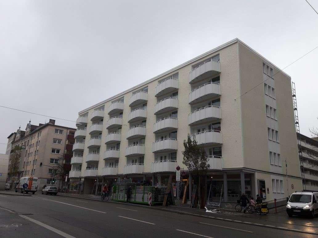 Zentrale und sonnige 1-Raumwohnung am Harras in Sendling