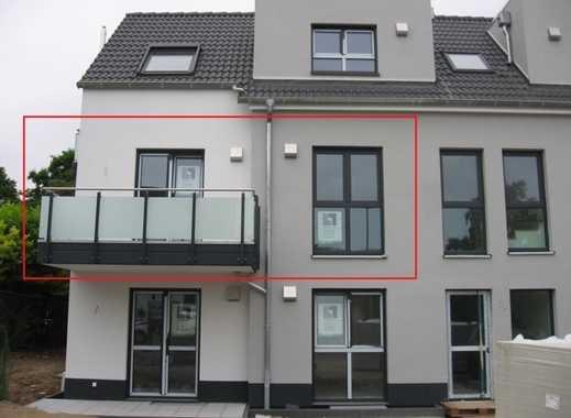 Exklusive Neubauwohnung mit 2 Balkonen, Loggia u. Aufzug in kleiner Wohnanlage