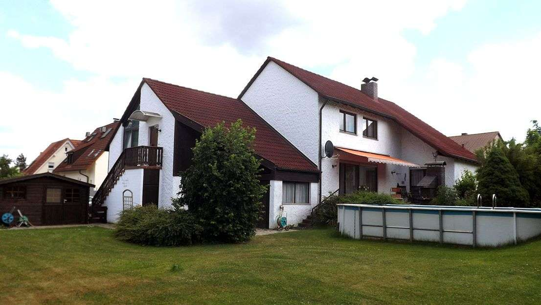 1-Raum-Loft-Wohnung mit Einbauküche in Wendelstein in