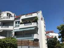 Maisonette-Wohnung mit drei Zimmern sowie