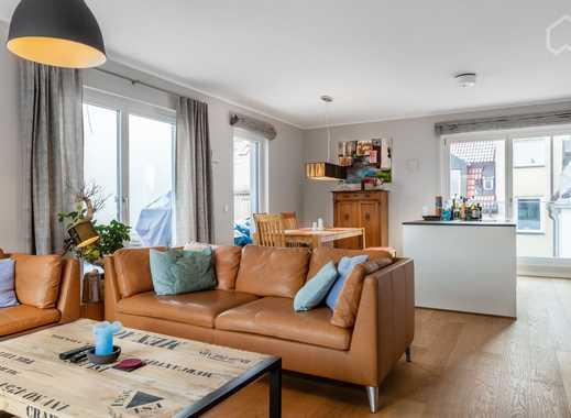 Ruhiges loftartiges Apartment mit zwei Terrassen, 80m von der Isar entfernt