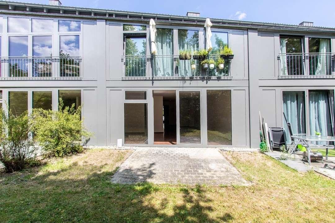 Helle 2-Zimmer-Erdgeschosswohnung mit Terrasse  in Mitte (Ingolstadt)