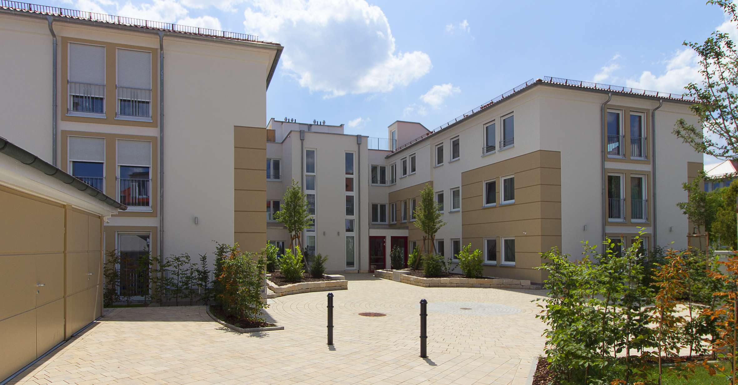 Zentrale 3-Zimmer-Wohnung in Neuendettelsau