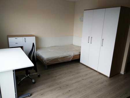 Exklusive 1-Zimmer-DG-Wohnung mit Balkon in Ingolstadt in Nordwest