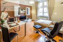 WohnRaumAgentur de Frankfurt-Bahnhofsviertel Möblierte 1-Zimmer-Wohnung
