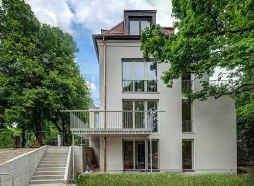 NEUBAU Erstbezug 4-Zi. Gartenmaisonettewohnung in bester Lage am Nymphenburger Schlosskanal