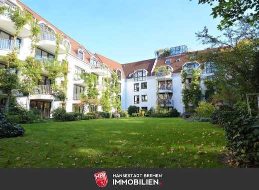 Ostertor / Kapitalanlage:  Gepflegte Wohnung am Staatsarchiv mit Tiefgaragenstellplatz und Fahrstuhl