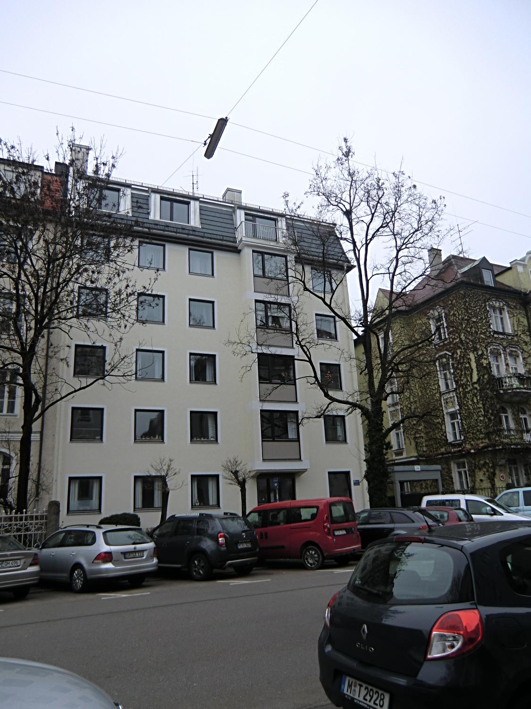 13 m2 DACHTERRASSE!! M-SCHWABING, FRIEDRICHSTR., MÖBLIERT in Schwabing-West (München)