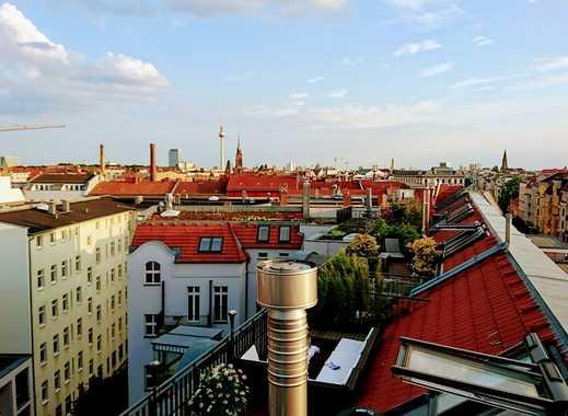 Exklusives Penthaus mit riesiger Dachterrasse im Prenzlauer Berg
