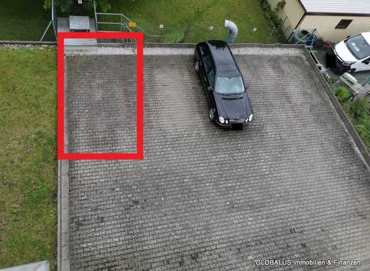 Stellplatz in absperrbaren Hinterhof