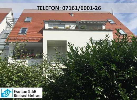 Schöne 3-Zimmer-Wohnung mit Terrasse und Garten.